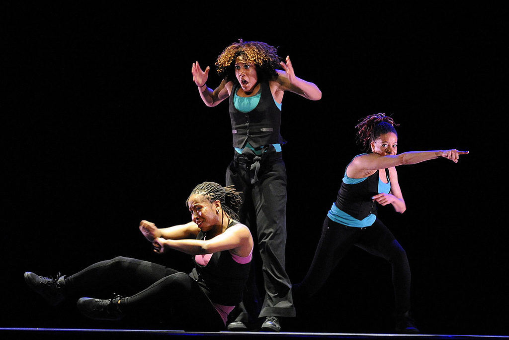Dancers with Emotive Facial Expressions