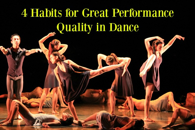 Dancers with Great Performance Quality in Dance