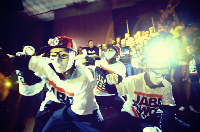 Jabbawockeez Dance Team in Competition