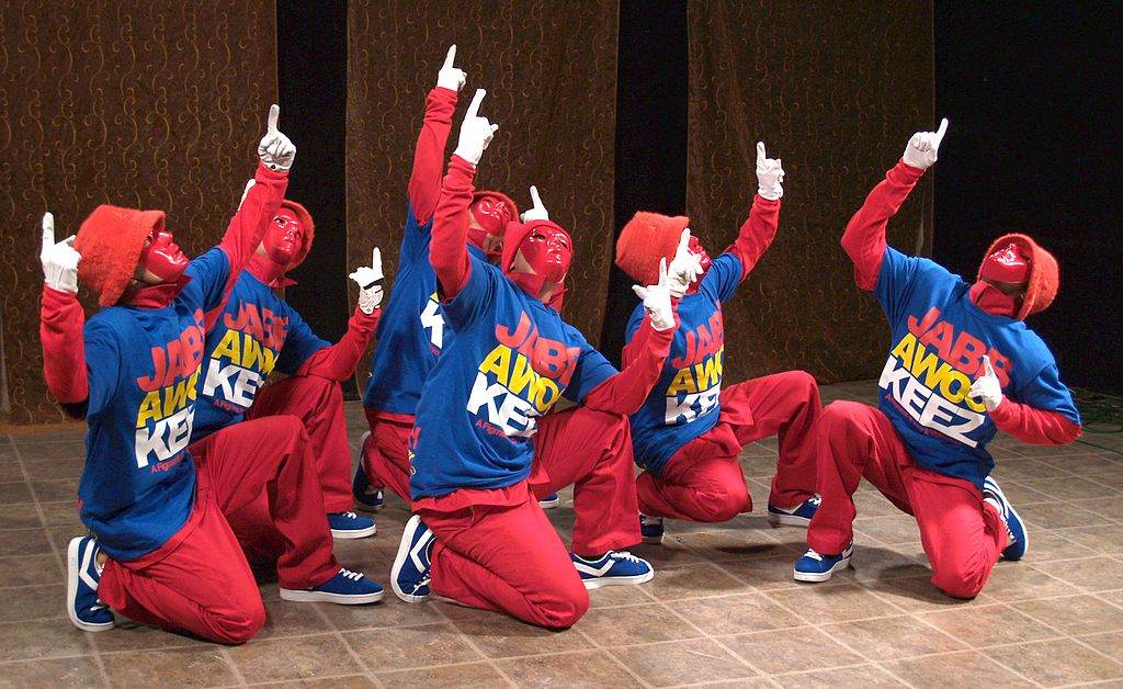 Jabbawockeez in a Dance Competition