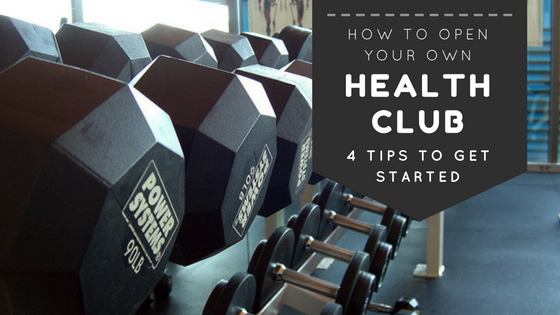 How to Open a Health Club blog title