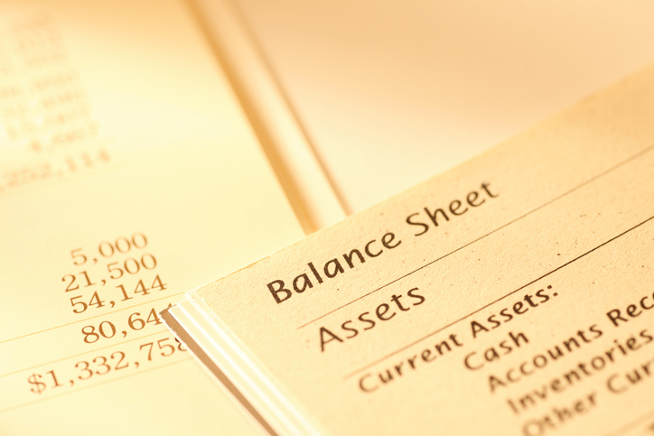 Top and Bottom of Balance Sheet