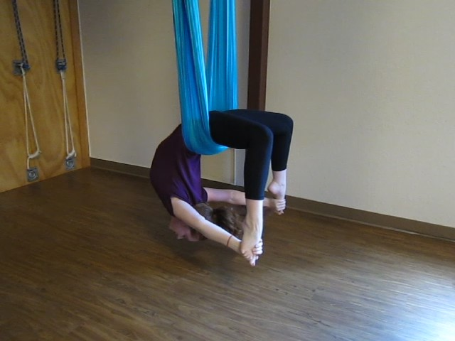 Aerial Yoga Backbend
