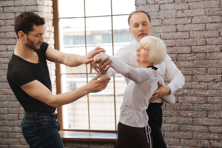 dance therapist coaching aging couple